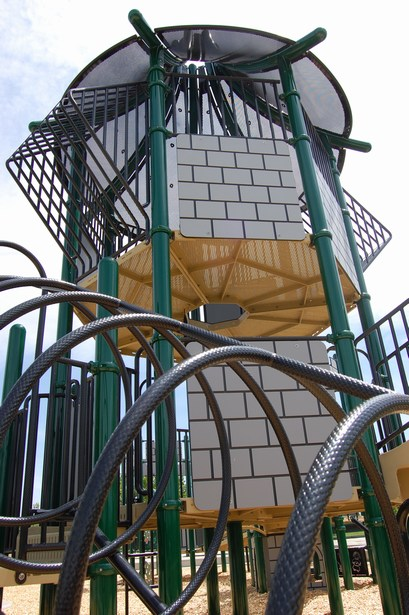 Steel and Aluminum is Reused in Playground Components