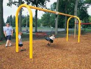 The Tire Swing offers 360 degree mobility.
