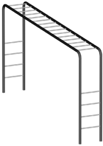 The Adult Course Horizontal Ladder.